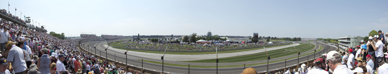 Turn 2 at the Indianapolis Motor Speedway after the 2012 Indy500. Shot May 27, 2012. © 2013 Jon Gardner